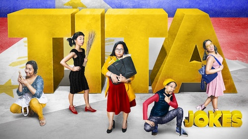 Picture of Belinda Corpuz, Isabel Kanaan, Ellie Posadas, Alia Rasul, and Maricris Rivera in Tita Jokes