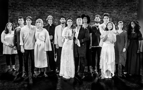 Photo of the cast of Unravelled - A New Musical