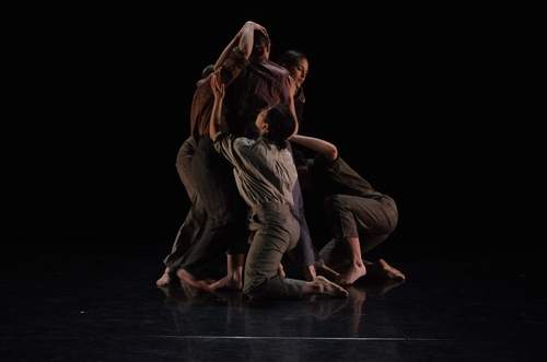 Six Dancers Supporting each other