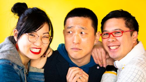 Picture of Cassie Cao, Leonard Chan, and Vong Show in RICE