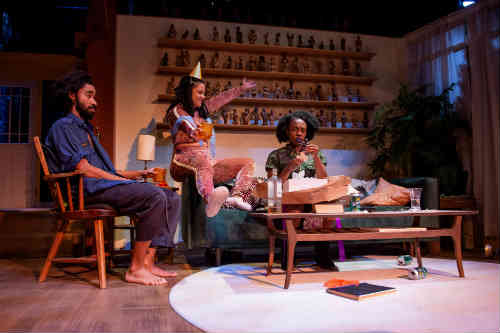 Photo of Stephen Jackman-Torkoff, Shakura Dickson, Natasha Mumba in Trout Stanley