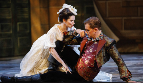 Photo of Miireille Asselin and Olivier Laquerre in Don Giovanni