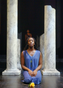 Photo of Whitney K. Ampadu in Portia's Julius Caesar