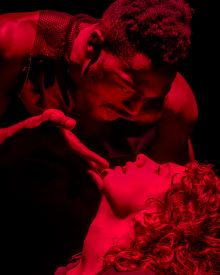 Picture of Kwaku Okyere and Alexandra Montagnese in A Midsummer Night's Dream