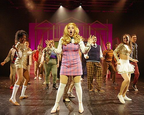 Picture of Emma Sangalli and ensemble in Legally Blonde: The Musical