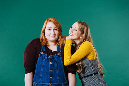 Photo of Allison Wither and Laura Piccinin in the promo photo for Every Silver Lining