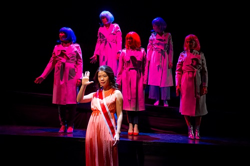 Picture of Zoé Doyle, Rosie Simon, Ma-Anne Dionisio, Louisa Zhu, Belinda Corpuz and Lindsay Wu in Lady Sunrise