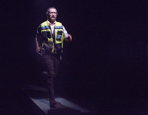 Photo of Gord Rand in The Runner by Cylla von Tiedemann