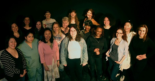 cast and crew of Women at Plays