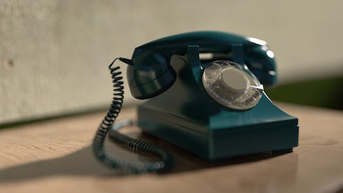 Photo of a telephone by Fei Peng Hu