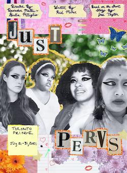 Poster of Millie Herridge, Cassandra Henry, Jahnelle Jones, and Sanskruti Marathe in Just Pervs created by Anaiah Lebreton