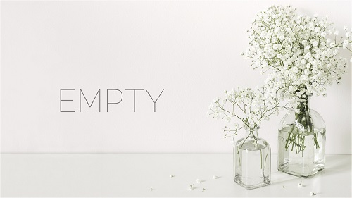Theatre poster for Empty